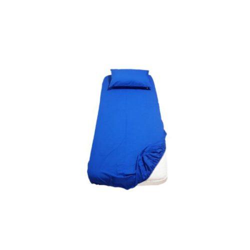ملحفه کشدار یکبار مصرف 220*120 آبی